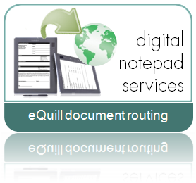 eQuill digital notepad services from Cleardata