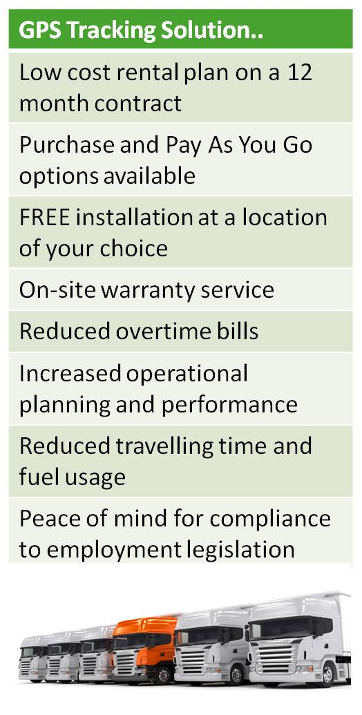 GPS Tracking Services from Cleardata