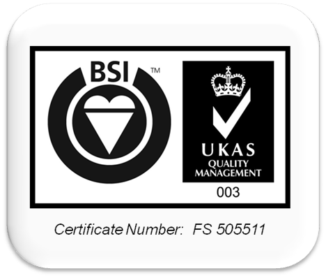 Accredited to ISO9001/2008